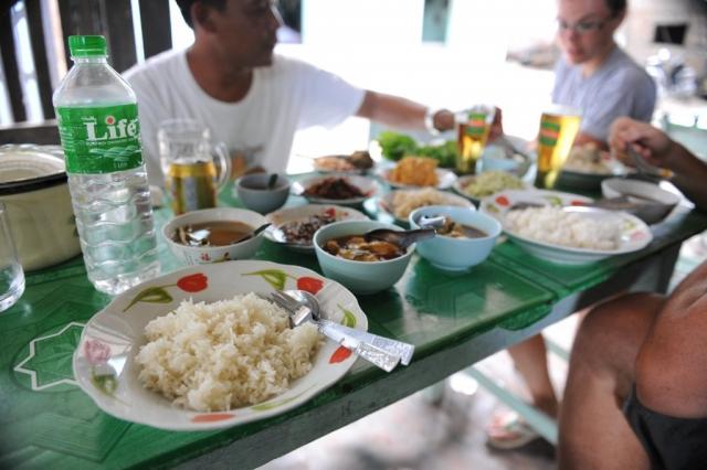Typical Burmese Food