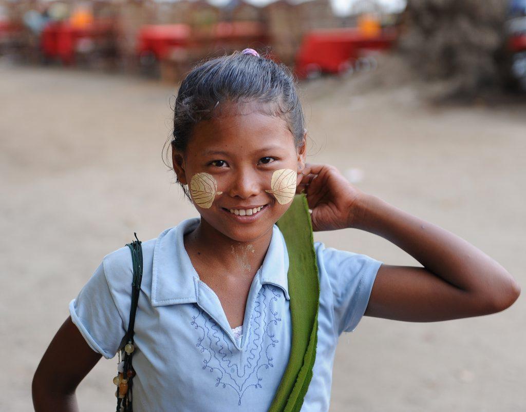 Thenaka on young girl