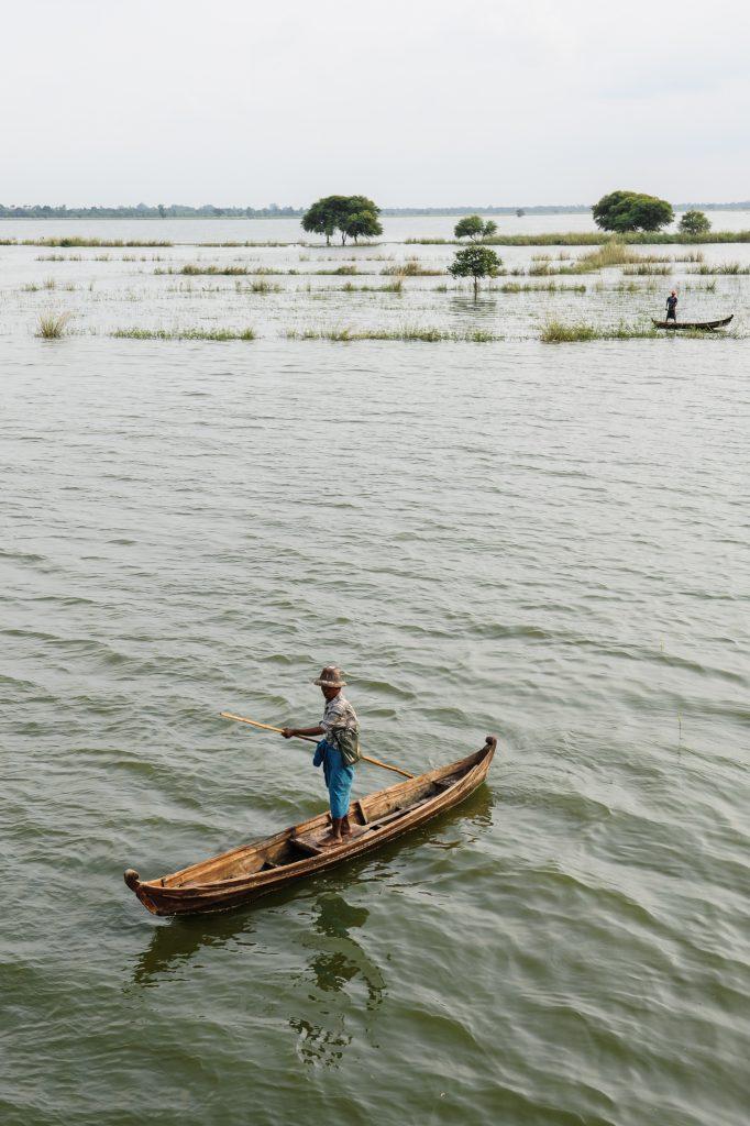 Boats in Mandalay