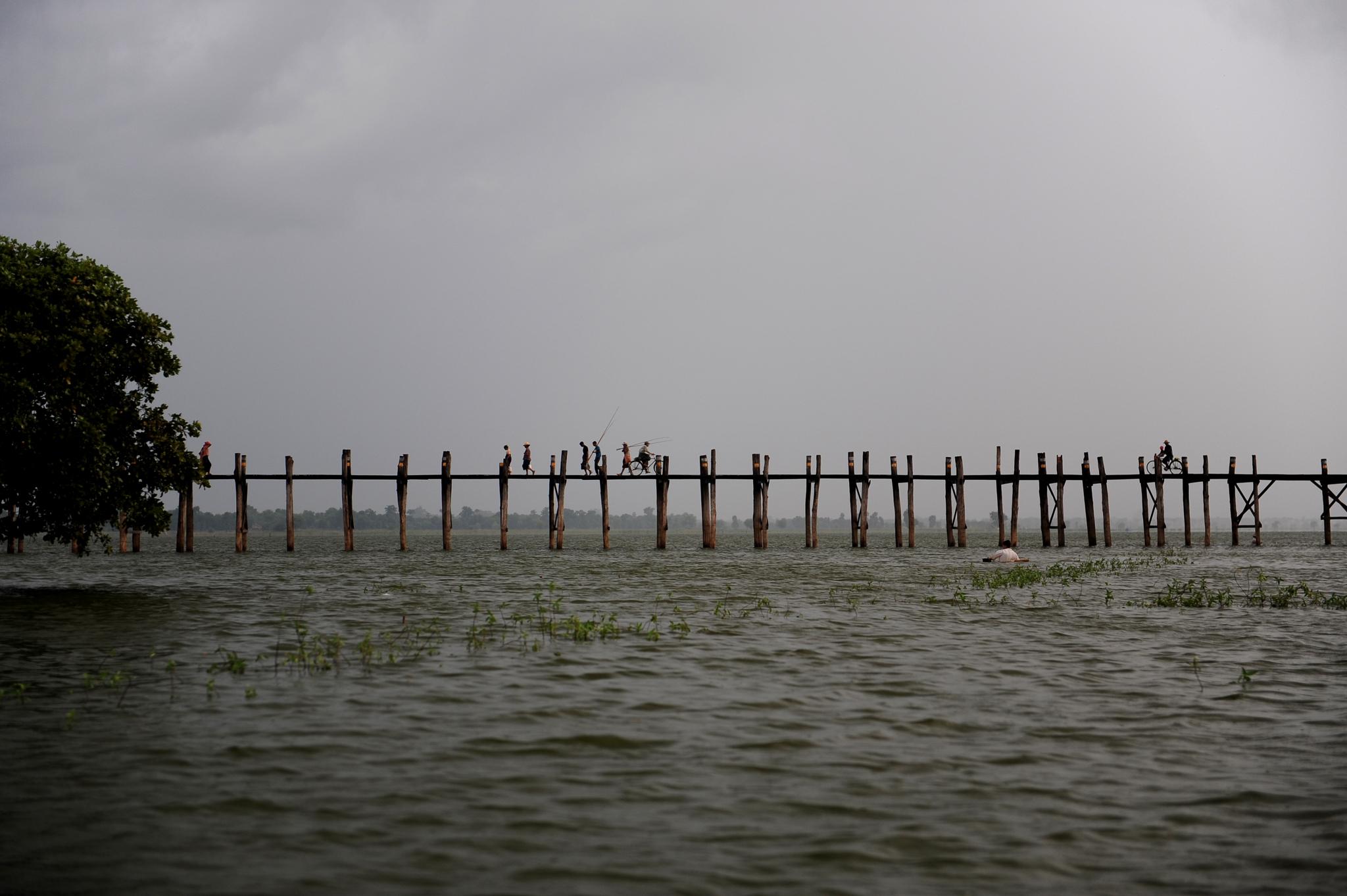 Foot bridge in Myanamr