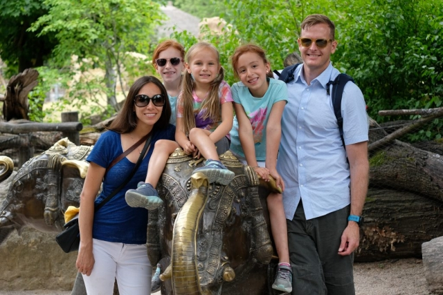 Family time at Prague Zoo