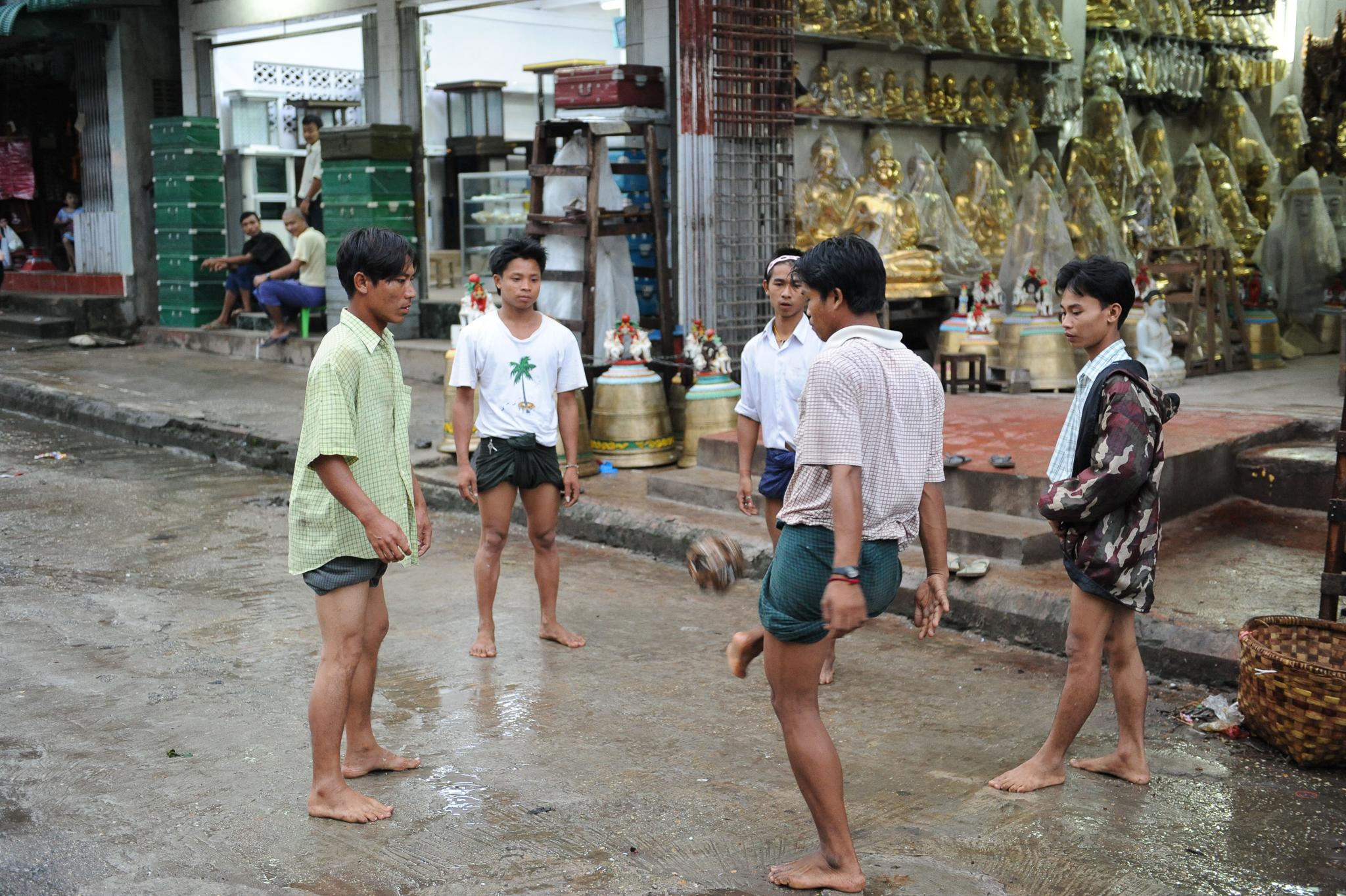 Yangon Hackey Sack