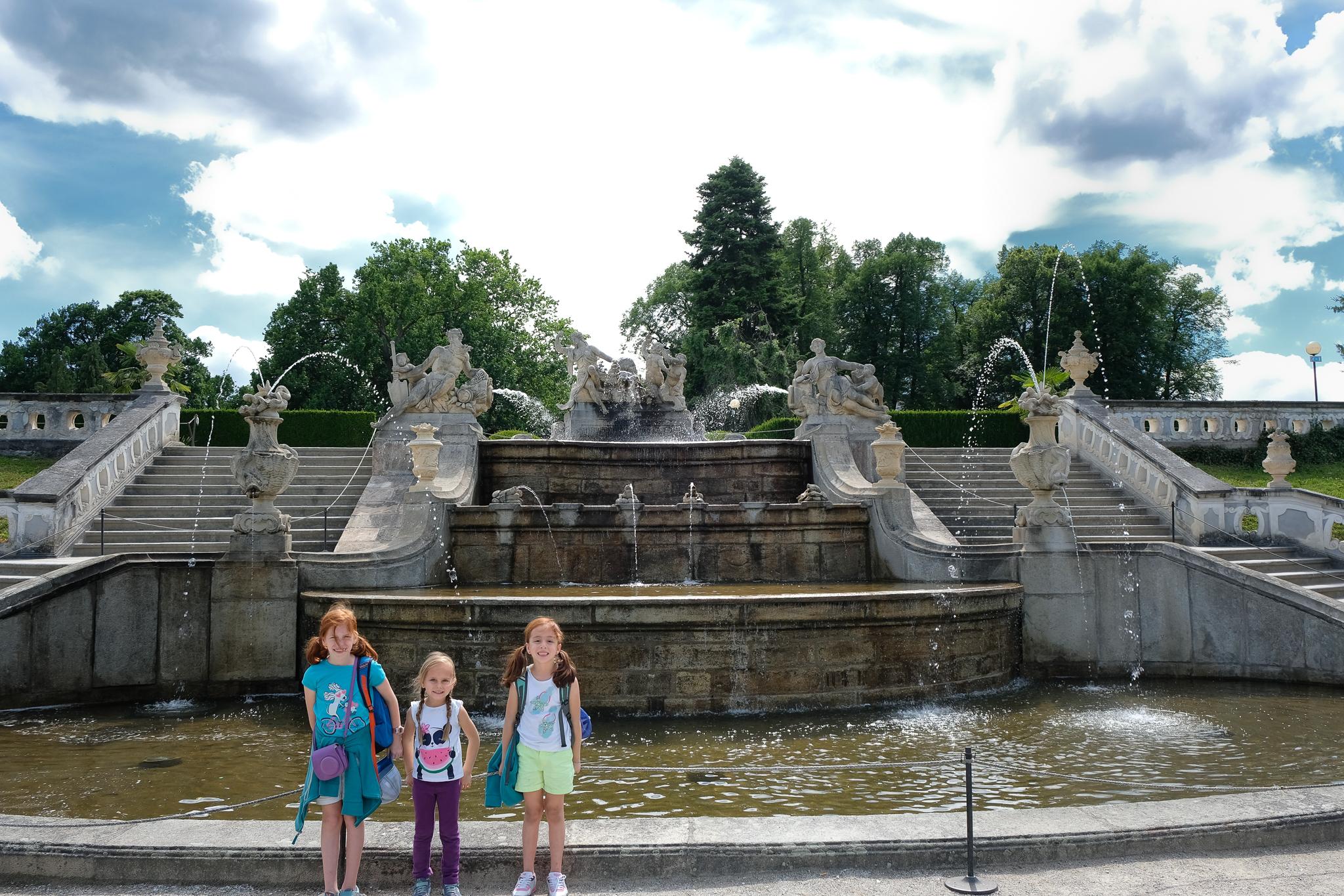 Royal Gardens Cesky Krumlov