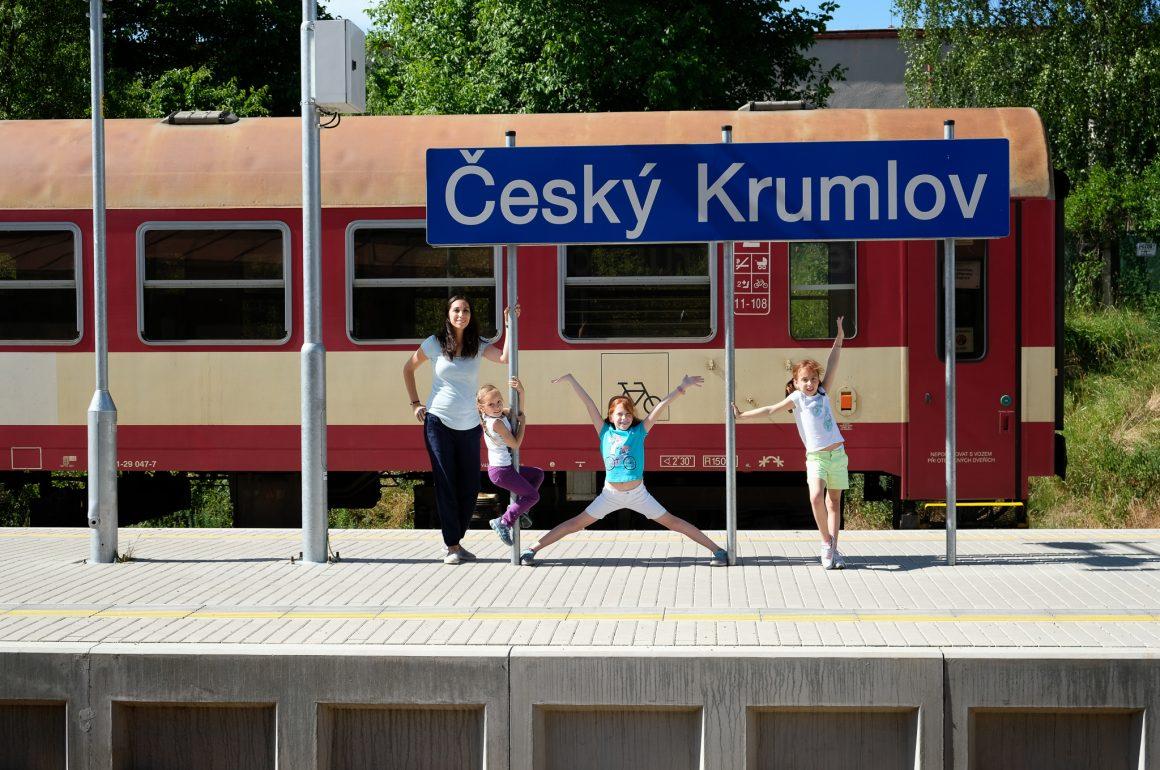 Family Day Trip to Český Krumlov