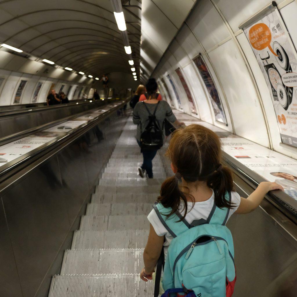 Metro back from Prague Railway Station
