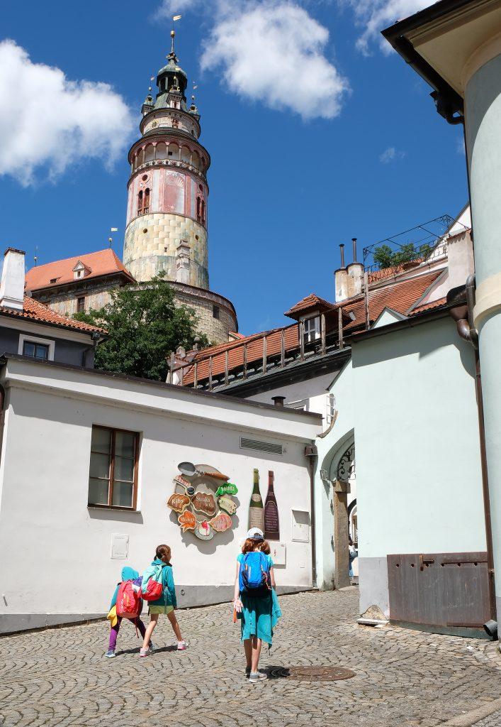 Walking towards old town