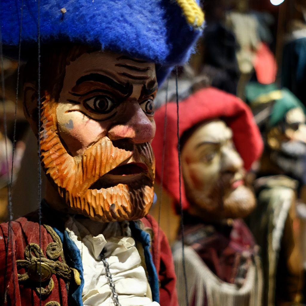 Marionettes in Attic of St. Josts Church