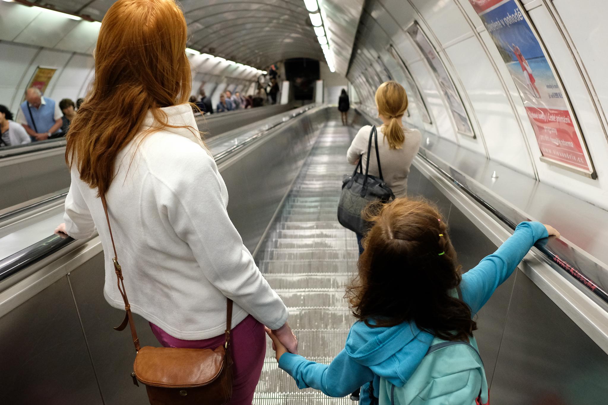 To the metro