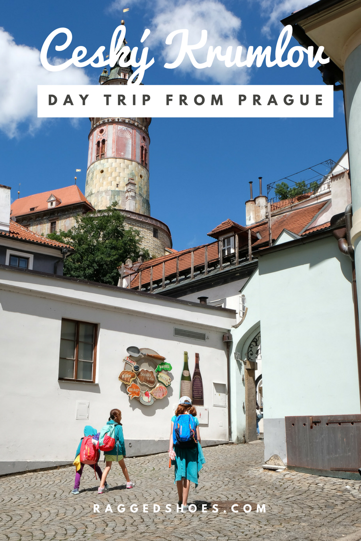Skipped the private tour and went via train, where kids are discounted or free, to Cesky Krumlov, a beautiful village that is a Unesco World Heritage site.