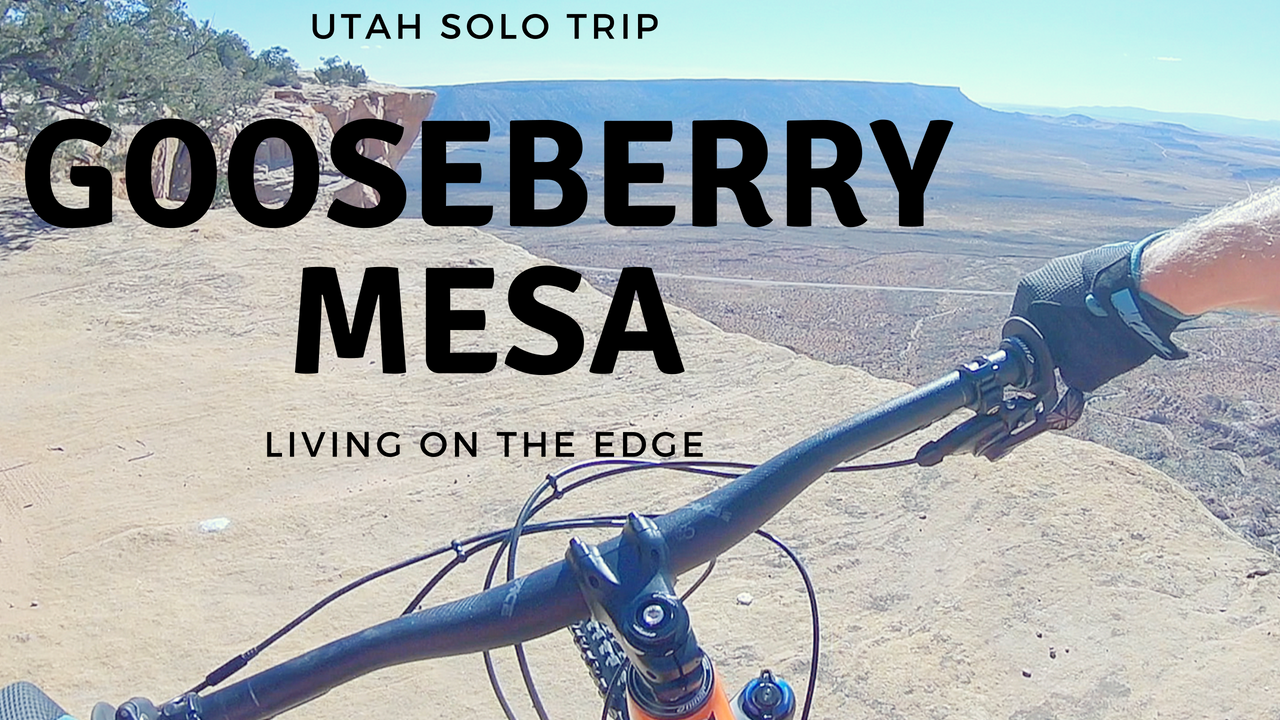 Gooseberry Mesa Mountain Biking