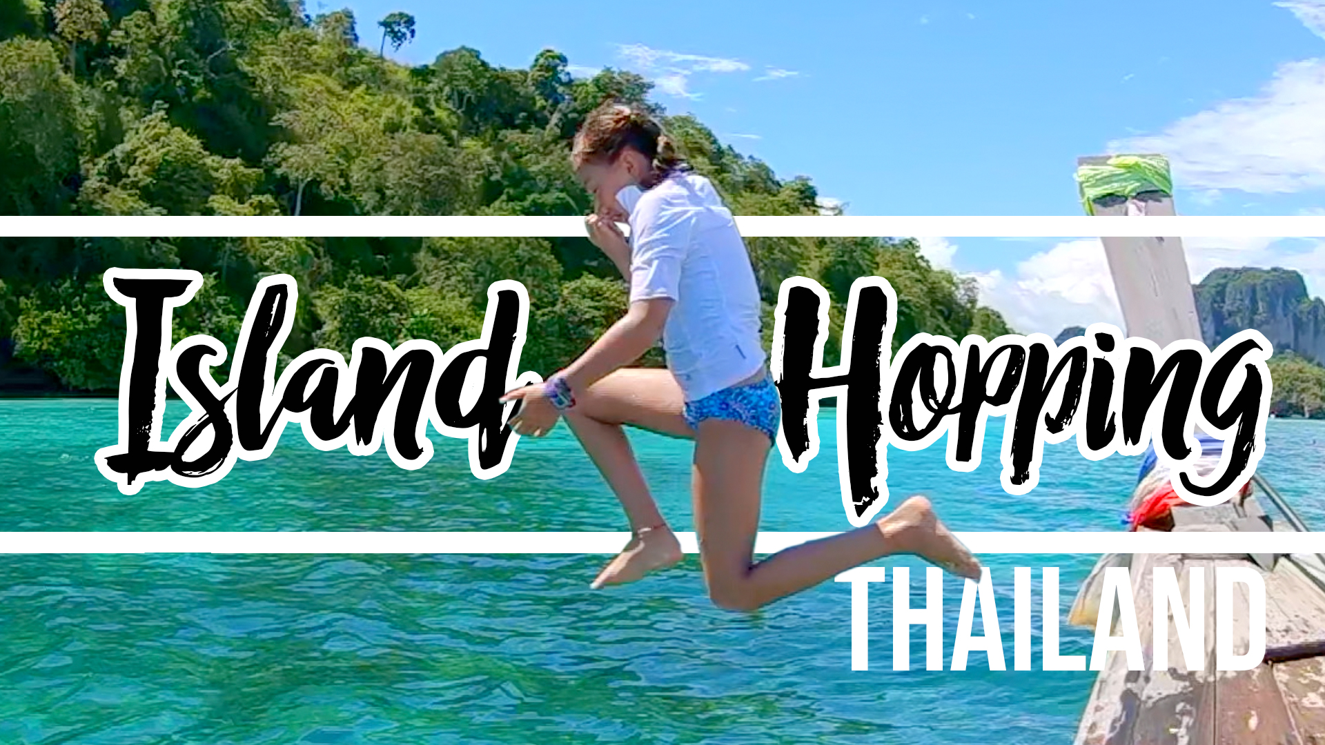 Island Hopping in Krabi Thailand family travel vlog