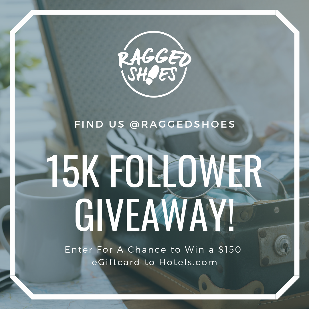 Instagram Giveaway - Ragged Shoes
