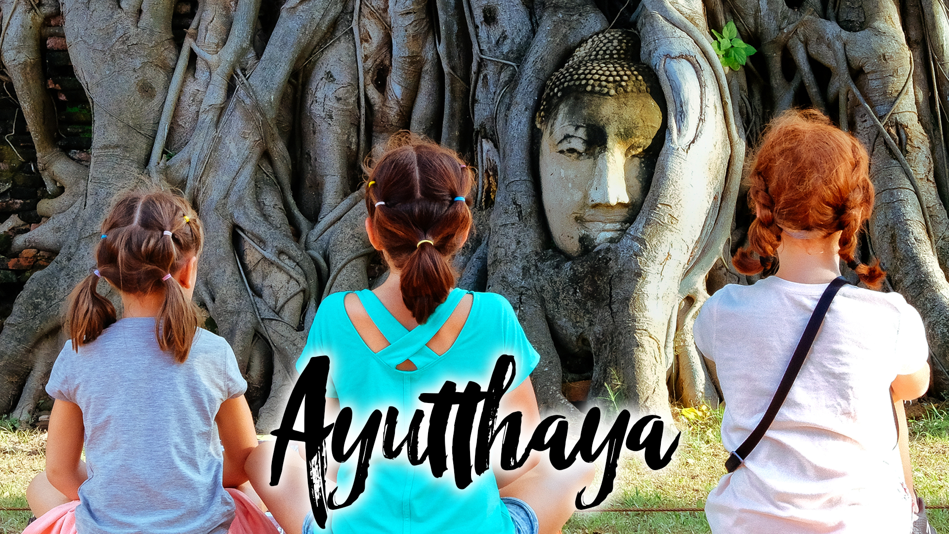 What we found in ayutthia with kids